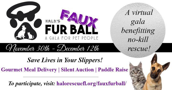 H.A.L.O.'s Faux FurBall