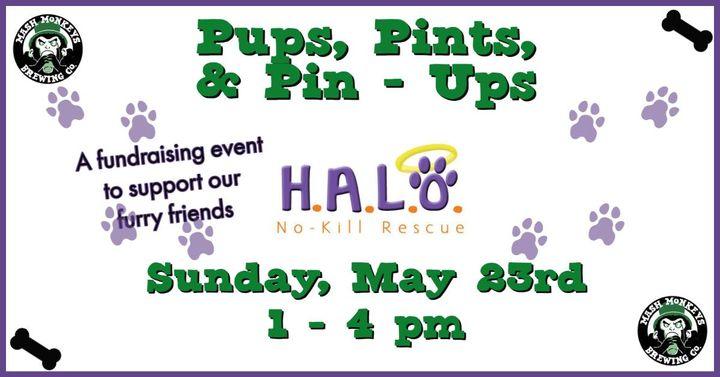 Pups, Pints, & Pin – Ups!